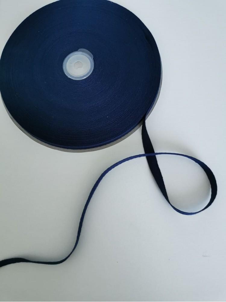 Киперная лента темно-синяя 10 мм