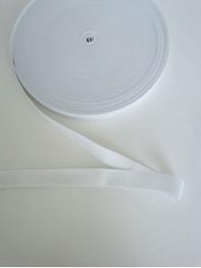 Резинка вязаная белая 2 см