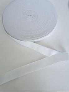 Резинка вязаная белая 3 см