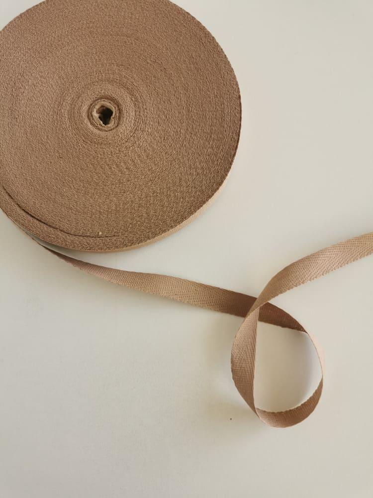Киперная лента бежевая 13 мм