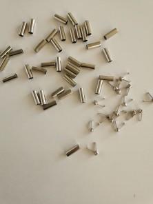 Наконечник для шнура металл цвет никель