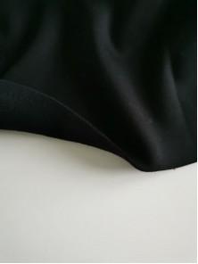 ОТРЕЗЫ Футер 3-х нитка с начесом Черный